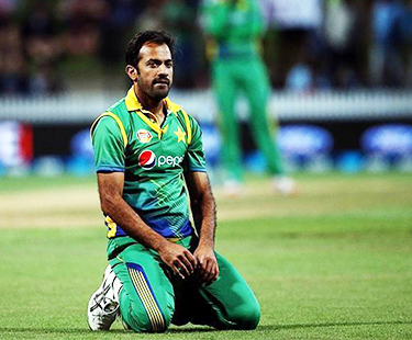 Champions Trophy: Wahab Suffers Minor Injury