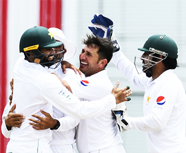 Yasir Shah 6 Wickets Against West Indies In 2nd Test Day 4