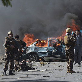 Massive Blast Rocks Kabul Diplomatic Quarter; 80 Killed, 300 Wounded