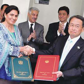 Pakistan, Japan Sign $24m Accord For Energy Project