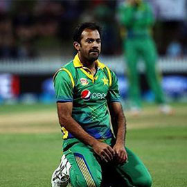 Champions Trophy; Wahab Suffers Minor Injury