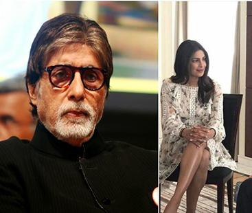 Amitabh Bachchan Reacts On Priyanka Chopra's Short Dress