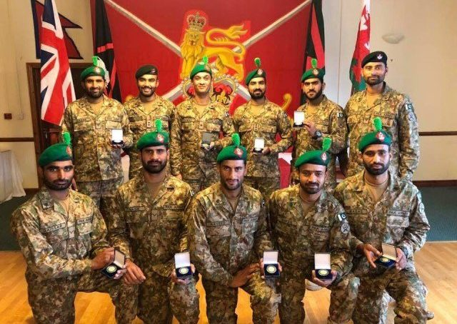 Pakistan Army wins gold in UK's Exercise Cambrian Patrol