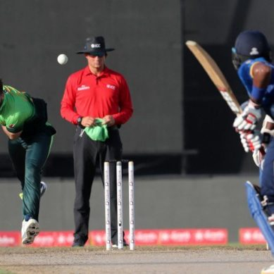 Shinwari's bags five-for, destroys Sri Lanka's top order