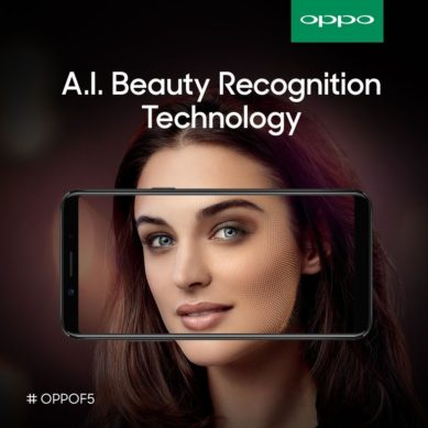You can now use Artificial Intelligence to take selfies with OPPO new selfie phone