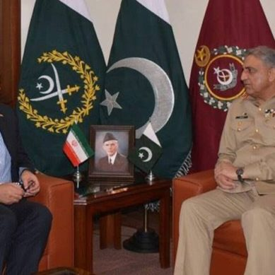COAS, Iranian ambassador discuss matters of regional security: ISPR
