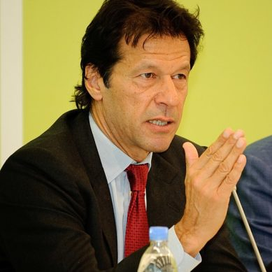 Hearing in contempt court to start, Imran Khan has arrived.