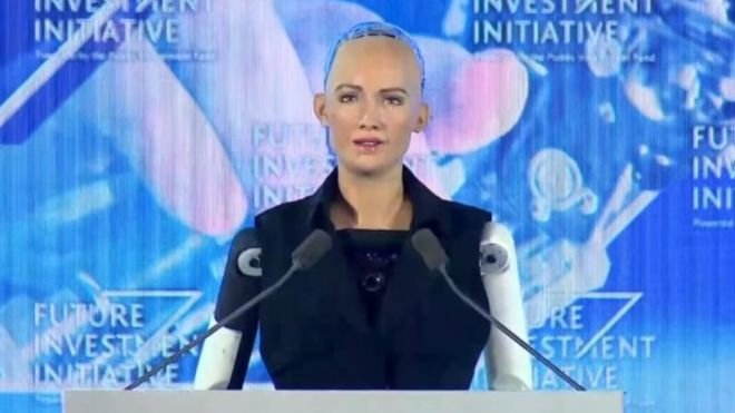 Sophia, the robot that has more rights than women in Saudi Arabia