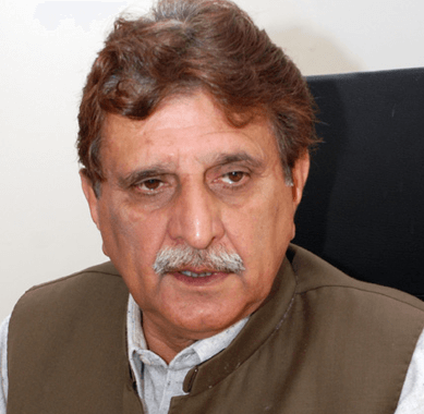 No future for Nawaz ditcher: AJK PM