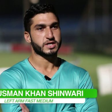 The rising star of Pakistan's Cricket Team: Usman Khan Shinwari