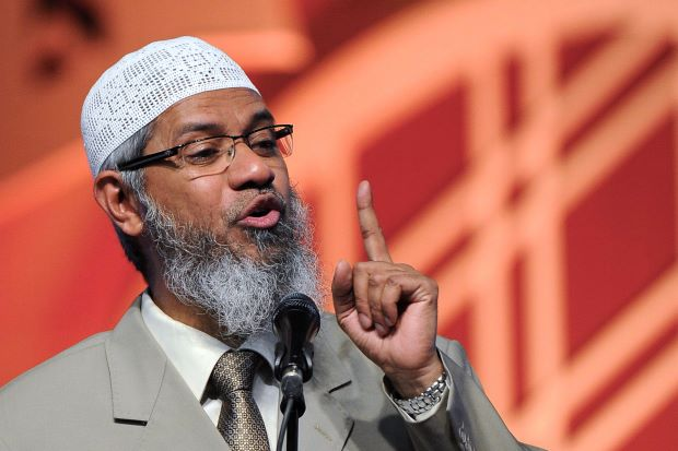 India's Terror Law charged on Zakir Naik
