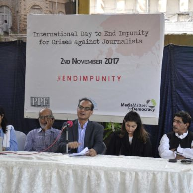 International Day to End Impunity for Crimes against Journalists; call for unity within the community