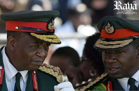 Military temporarily assume control in Zimbabwe