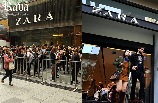 Why are hidden messages appearing inside Zara garments in Turkey