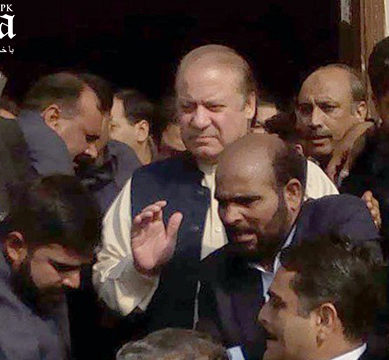 CJP dismisses Nawaz's in-chamber appeal to club NAB references