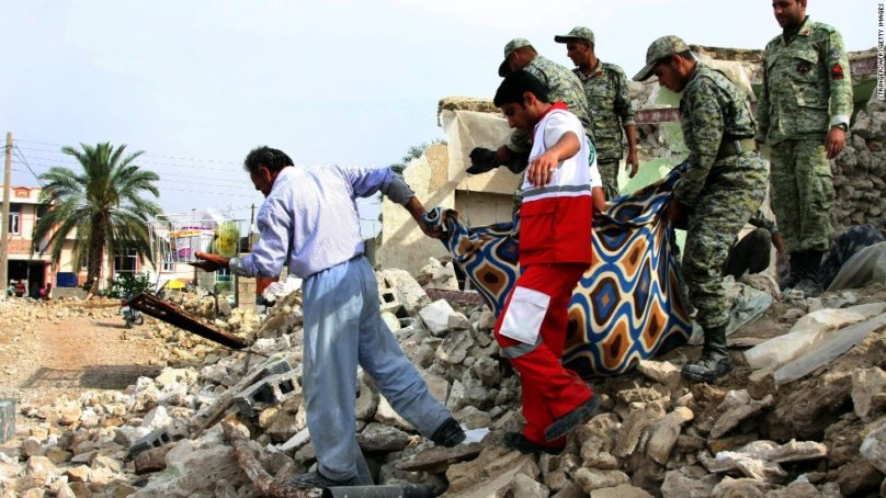 Atleast 210 killed as 7.the earthquake near Iran-Iraq border