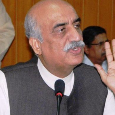 The coal project in Sahiwal is not environmental friendly and will increase cases of TB: Kursheed Shah