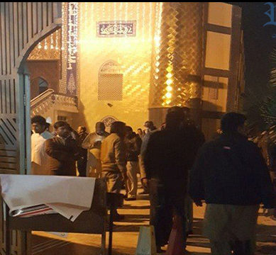 Two killed, three injured in firing at Islamabad Imambargah