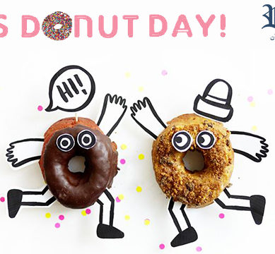 The world is celebrating National Donut Appreciation Day!