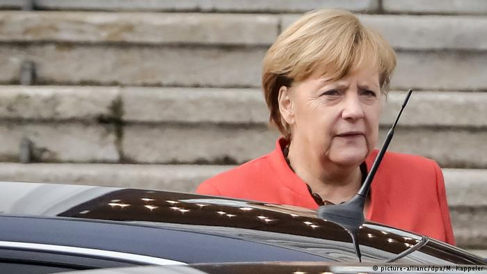 Angela Merkel, willing to stand as a candidate in case of new elections