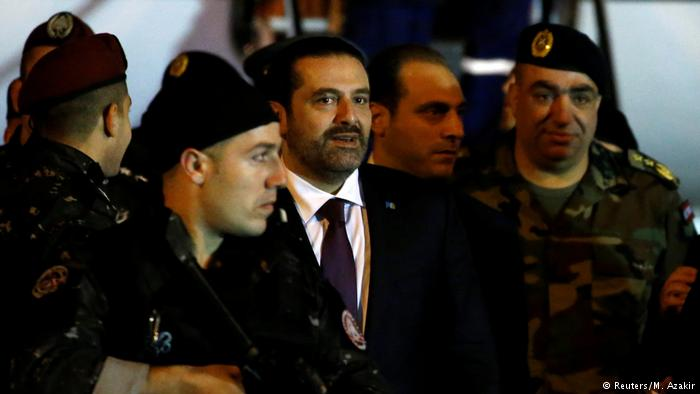 Hariri returns to Lebanon for the first time after resignation