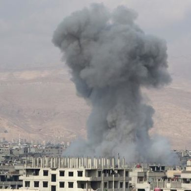 At least 57 killed by airstrikes in northeastern Syria