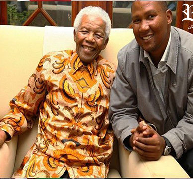 Nelson Mandela's grandson arrives in Lahore