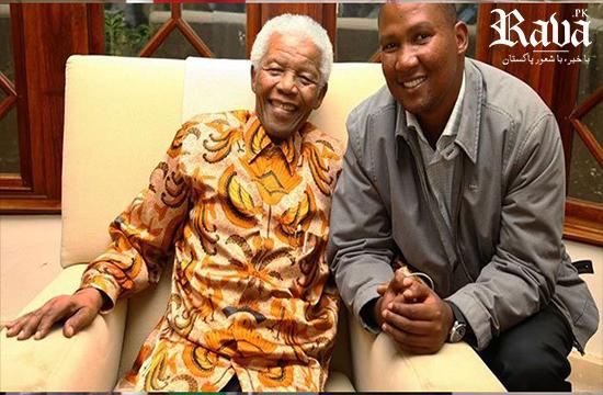 Nelson Mandela's grandson arrives in Lahore