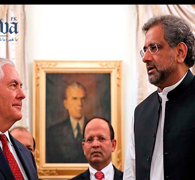 PM Abbasi rejects US accusations of safe havens in Pakistan