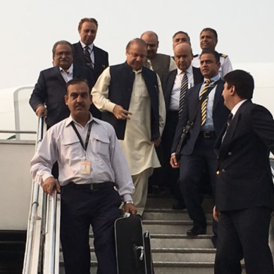 Nawaz Sharif arrives in Islamabad: Will face NAB tomorrow