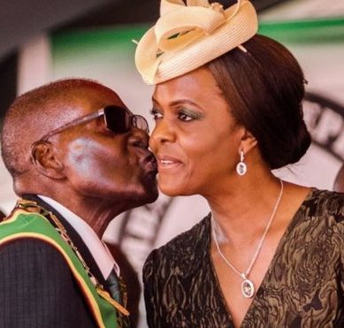 Grace Mugabe, the controversial first lady of Zimbabwe at the center of the struggle for power in the African nation