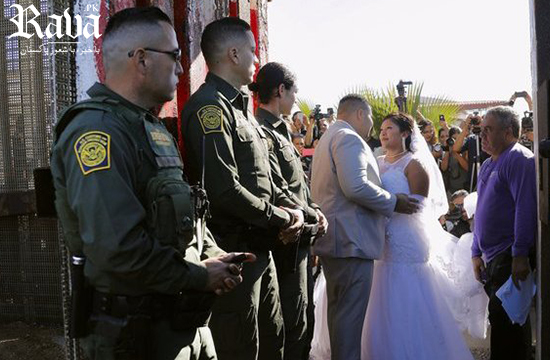 Love Wins: The  story of the couple who had three minutes to get married on the border between Mexico and the United States