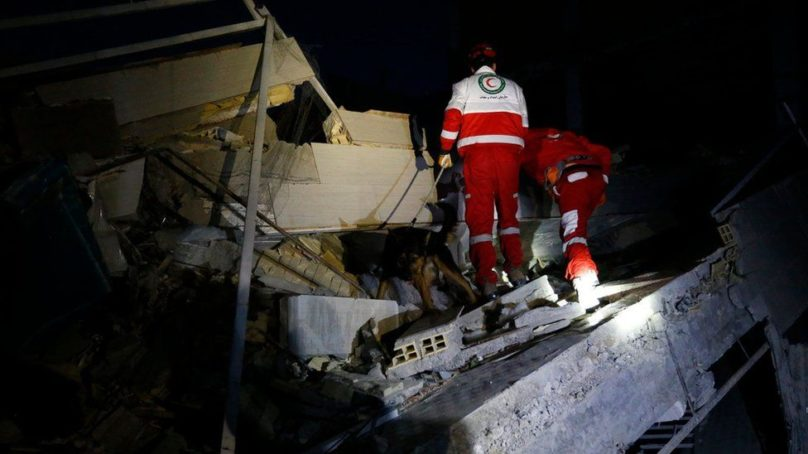 Images of the destruction and pain after the devastating earthquake that shook the border between Iraq and Iran