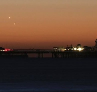 The impressive show that Venus and Jupiter, the two brightest planets in the Solar System, gave to the early risers of the northern hemisphere