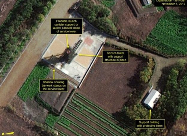 "The images that show the secret program of North Korea to develop ""submarines capable of launching ballistic missiles"""