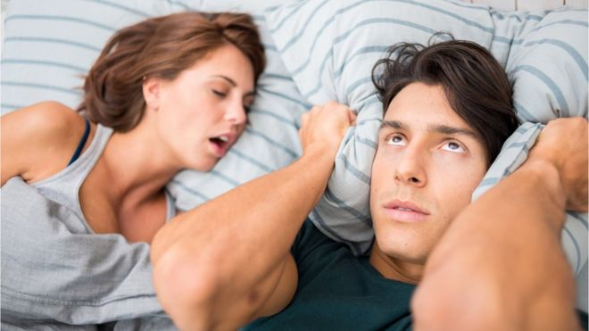 Smart hearing aids and other technologies that block the sound of snoring and annoying noises
