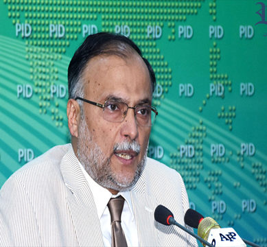 Ahsan Iqbal seeks to justify govt's 'Faizabad surrender'