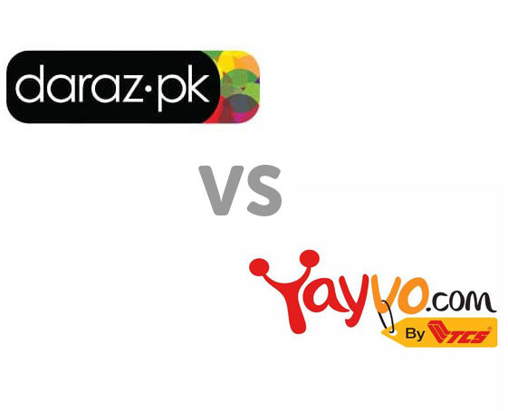 Daraz.pk VS Yayvo: Whose Got What and Which Is Better!