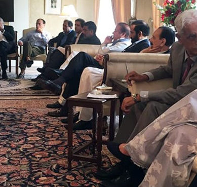 Nawaz Sharif summons meeting on party infighting in Islamabad today
