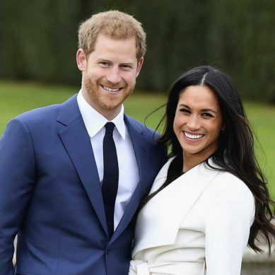 First photos of newly engaged Prince Harry and Meghan Markle