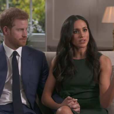 """The stars lined up when I met Meghan"": the first interview of Prince Harry and his girlfriend after announcing their engagement"