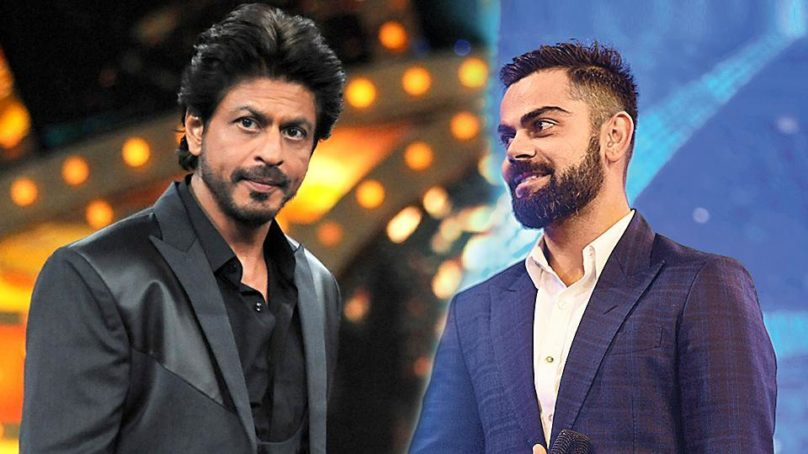 Virat Kohli dethrones Shah Rukh Khan to become India's most valuable celebrity brand