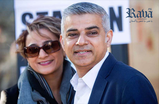 Mayor of London Sadiq Khan arrives in Lahore