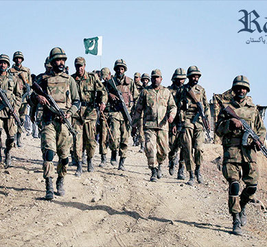 Two soldiers martyred as terrorists open fire at security forces in North Waziristan