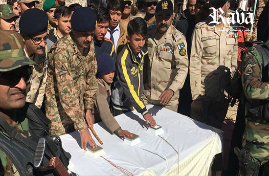 ANF destroys nearly 300 tonnes of contraband in Quetta
