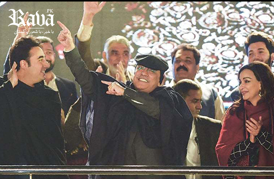 PML-N will 'concede defeat' before time, says Zardari