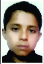 Ziaullah Islam Age: 12 Class: 8 Son of Naik Abdul Qadir and Nishaat Qadir *Siblings: Shehnaz Shabnam (17), Moin ul Islam (15), Nayab Sadaf (13), Aiman (9) and Muhammad Talha (6)