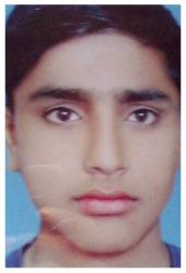 Tanveer Hussain Age: 14 Class: 8 Son of Naib Subidar (retd) Atta Mohammad and Jatti Bibi Siblings: Mehwish Nasim (17), Khawar Shahzad (16) and Mohammad Faraz (12)