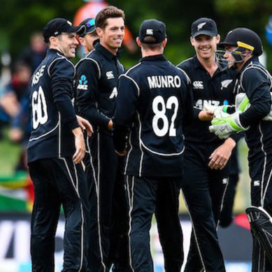 New Zealand clean sweep West Indies in ODI series