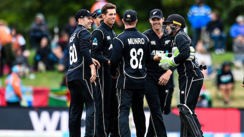 New Zealand clean sweep West Indies in ODI series